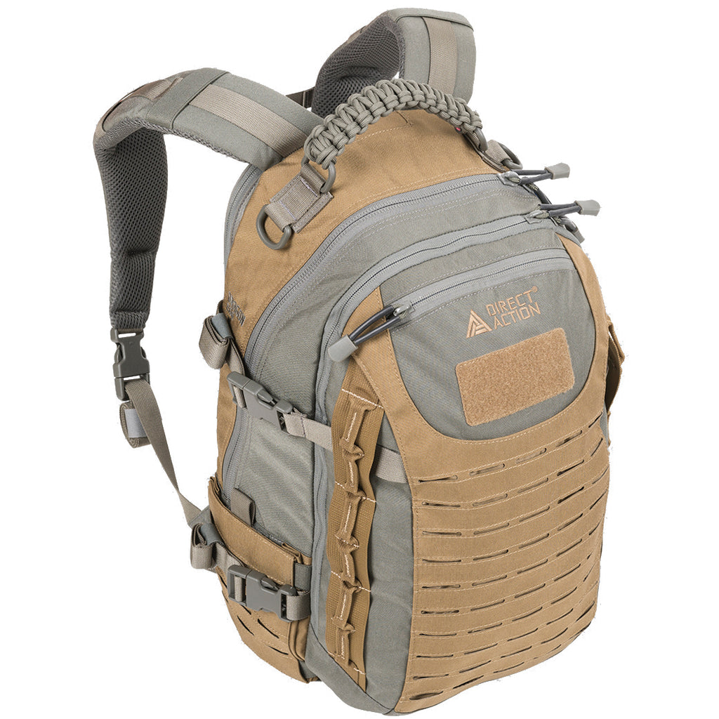DIRECT ACTION DRAGON EGG MKII BACKPACK - URBAN GREY / COYOTE