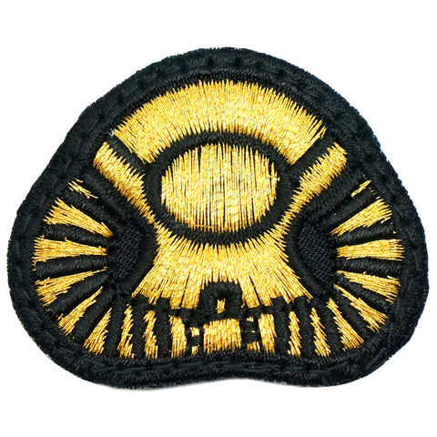 BASIC DIVING PATCH - BLACK GOLD