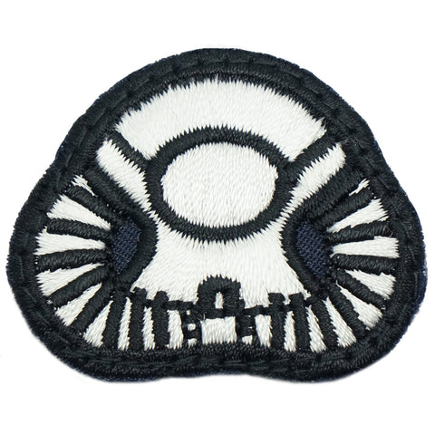 BASIC DIVING PATCH - NAVY WHITE