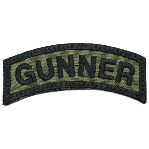 US GUNNER TAB - OD GREEN