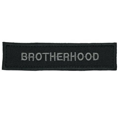 BROTHERHOOD PATCH - BLACK FOLIAGE