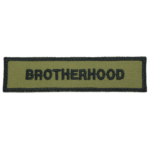 BROTHERHOOD PATCH - OLIVE GREEN