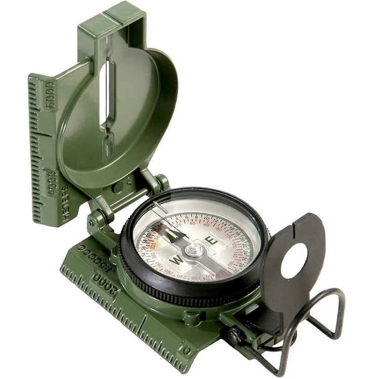 CAMMENGA TRITIUM LENSATIC COMPASS OFFICIAL US MILITARY ISSUE - GREEN