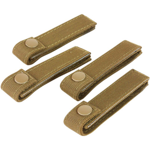 "CONDOR 4"" MOD STRAP (4PCS / PACK) - COYOTE BROWN"
