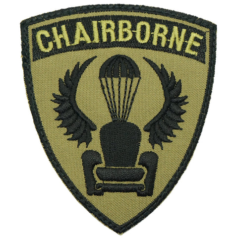 CHAIRBORNE WING PATCH - OLIVE GREEN