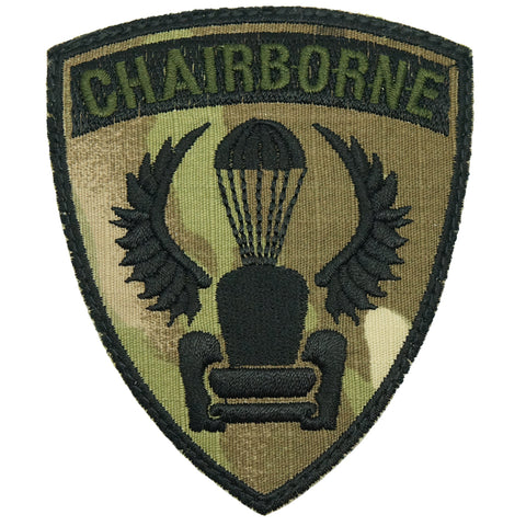 CHAIRBORNE WING PATCH - MULTICAM