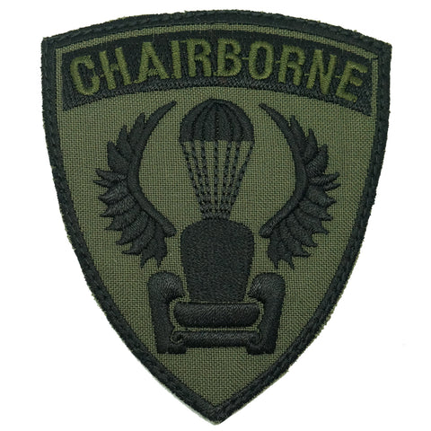CHAIRBORNE WING PATCH - OD GREEN