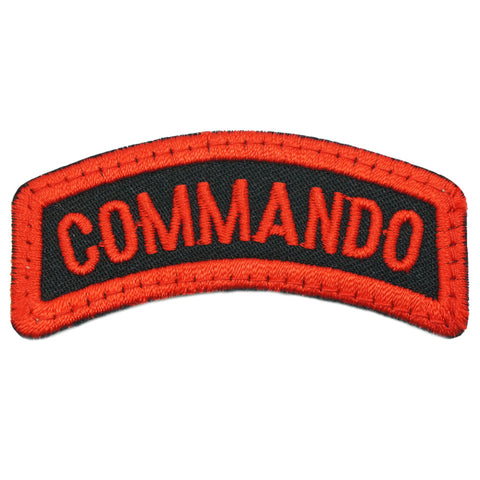 COMMANDO TAB - BLACK RED