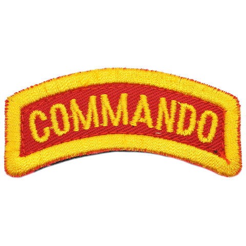 COMMANDO TAB - RED ORANGE