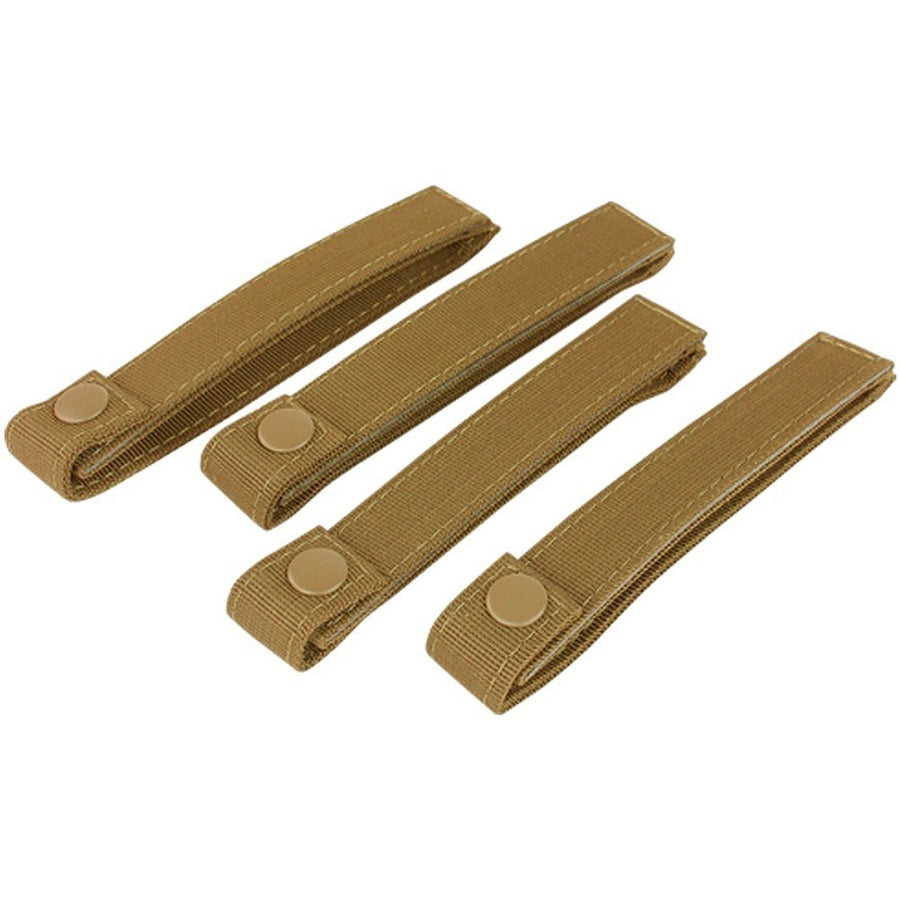 "CONDOR 6"" MOD STRAP (4PCS / PACK) - COYOTE BROWN"