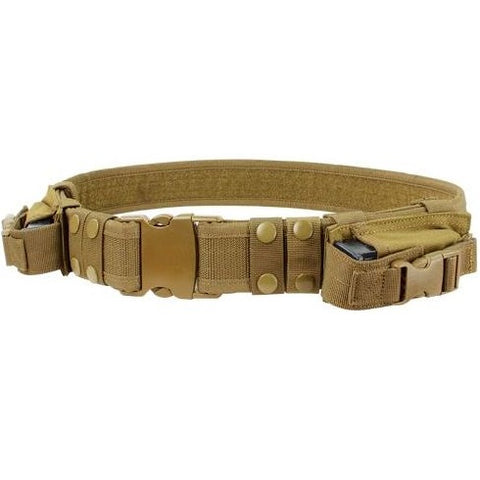 CONDOR TACTICAL BELT - COYOTE BROWN