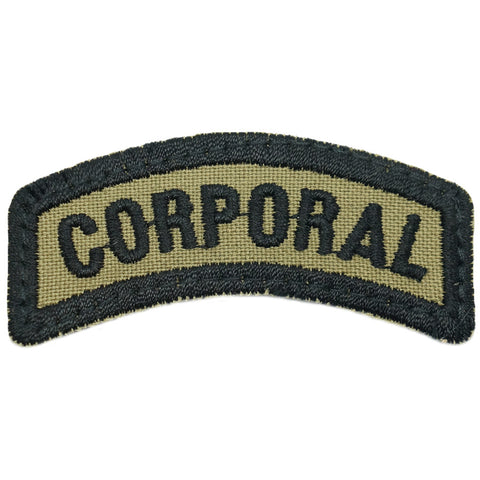 CORPORAL TAB - OLIVE GREEN