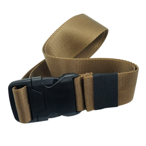 "1.5"" COVERT BUCKLE BELT - COYOTE BROWN"