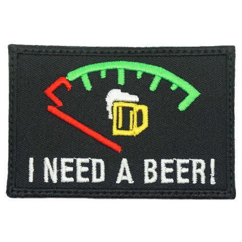 I NEED A BEER PATCH
