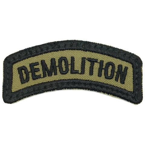 DEMOLITION TAB - OLIVE GREEN