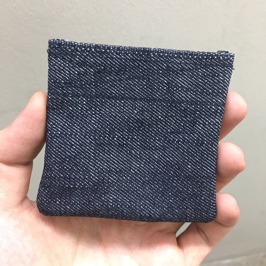 COIN PURSE - DENIM