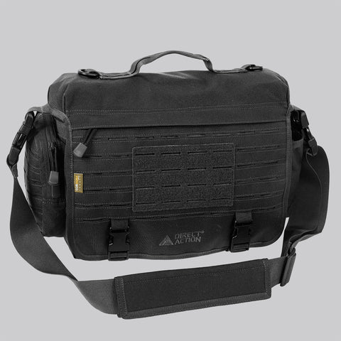 DIRECT ACTION MESSENGER BAG - 500D CORDURA (BLACK)