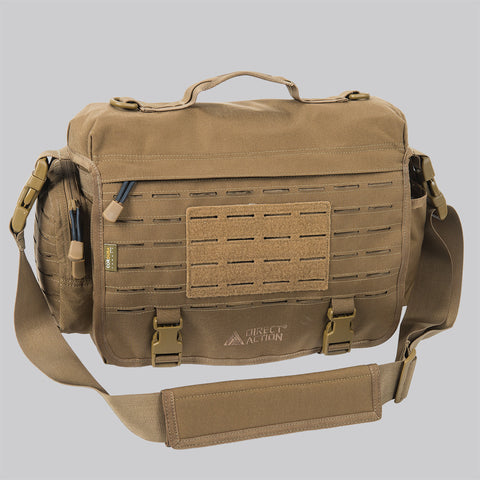 DIRECT ACTION MESSENGER BAG - 500D CORDURA (COYOTE BROWN)