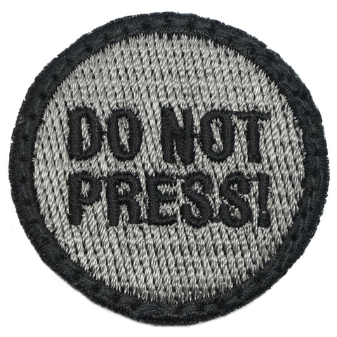 DO NOT PRESS PATCH - BLACK FOLIAGE