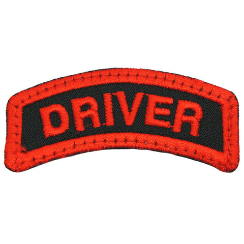 DRIVER TAB - BLACK RED