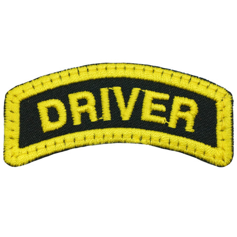 DRIVER TAB - BLACK YELLOW