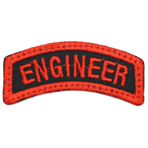 ENGINEER TAB - BLACK RED