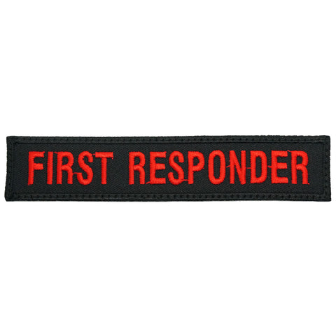 FIRST RESPONDER - BLACK RED