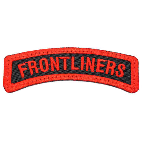 FRONTLINERS TAB - BLACK RED