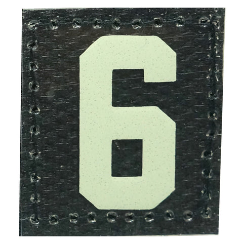 HGS NUMBER 6 PATCH - GLOW IN THE DARK