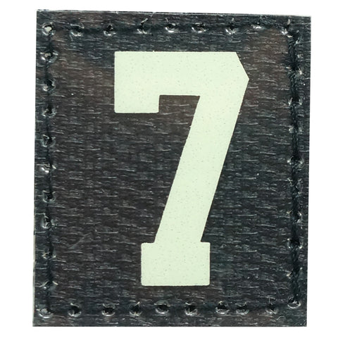 HGS NUMBER 7 PATCH - GLOW IN THE DARK