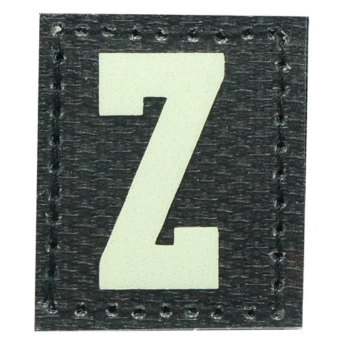 HGS LETTER Z PATCH - GLOW IN THE DARK
