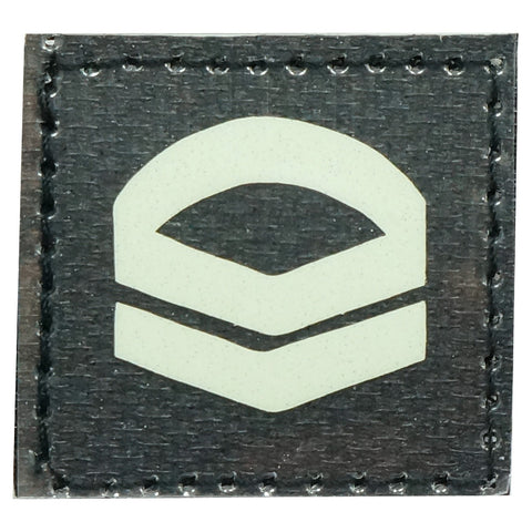 GLOW IN THE DARK RANK PATCH - CORPORAL