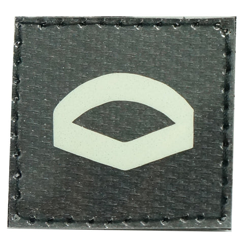 GLOW IN THE DARK RANK PATCH - LANCE CORPORAL