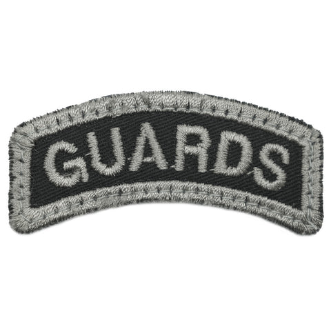 GUARDS TAB - BLACK FOLIAGE