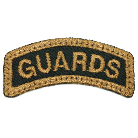 GUARDS TAB - BLACK KHAKI