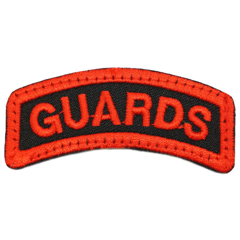 GUARDS TAB - BLACK RED