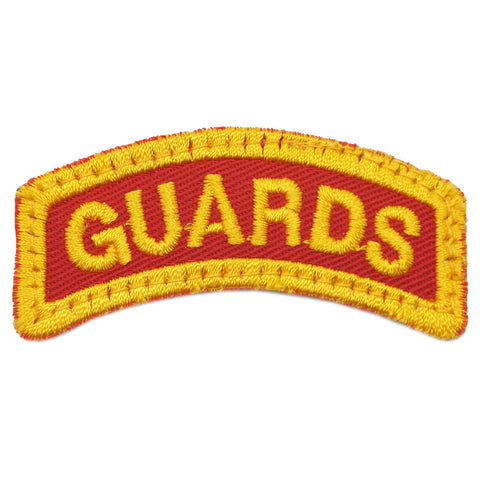 GUARDS TAB - RED ORANGE