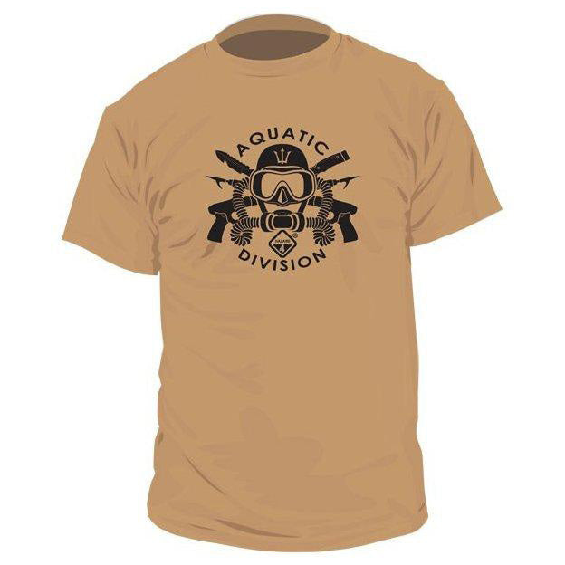 HAZARD 4 AQUATIC DIVISION T-SHIRT - COYOTE