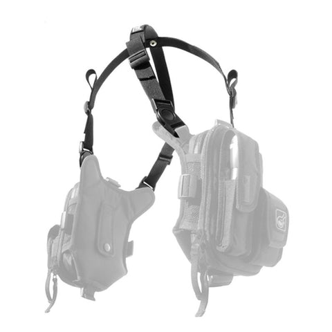 HAZARD 4 COVERT RG BASIC WEBBING HARNESS - BLACK