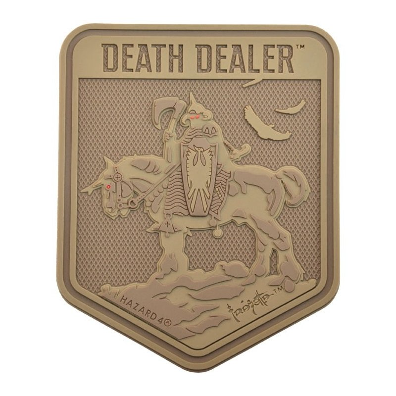 HAZARD 4 EXCLUSIVE DEATH DEALER PATCH BY FRANK FRAZETTA - COYOTE