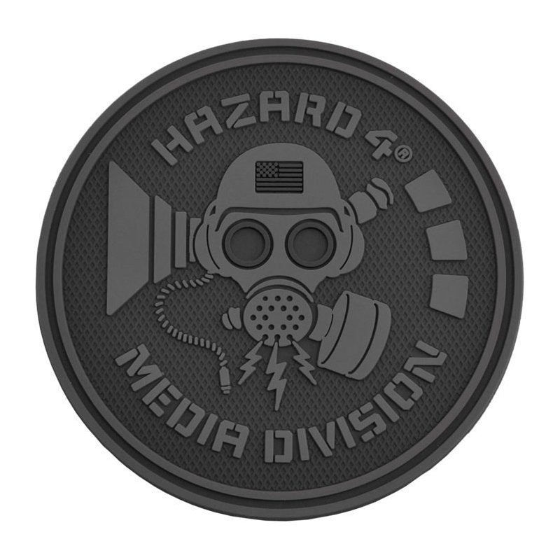 HAZARD 4 MEDIA DIVISION PATCH - BLACK