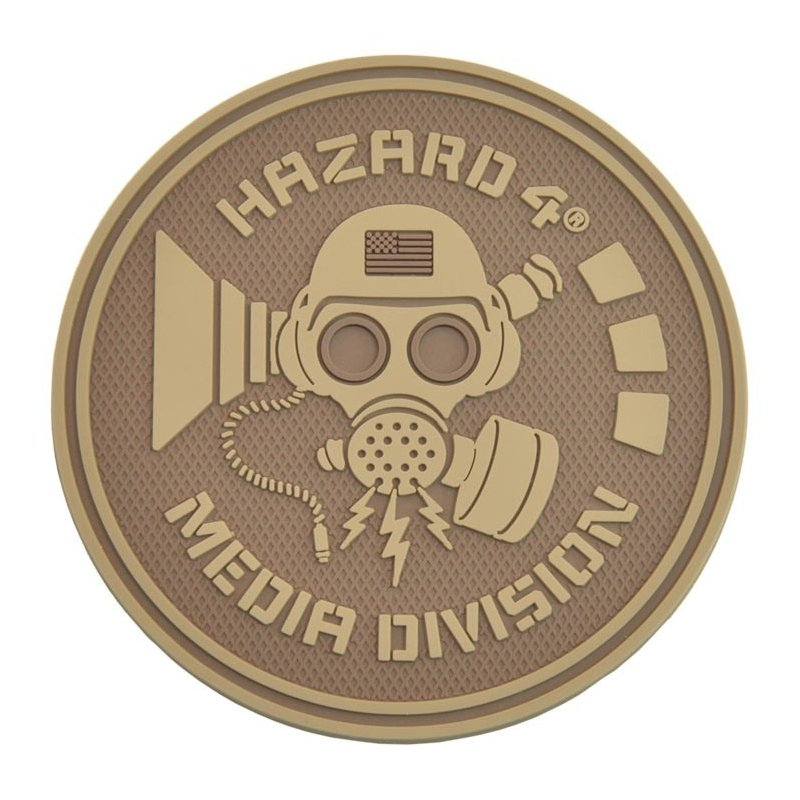 HAZARD 4 MEDIA DIVISION PATCH - COYOTE