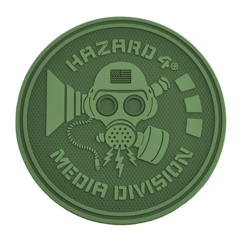 HAZARD 4 MEDIA DIVISION PATCH - OD GREEN