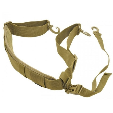 HAZARD 4 PADDED SHOULDER STRAP WITH STABILIZER STRAP - COYOTE - Hock Gift Shop | Army Online Store in Singapore
