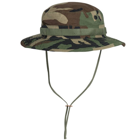 HELIKON-TEX BOONIE HAT - POLYCOTTON RIPSTOP - US WOODLAND