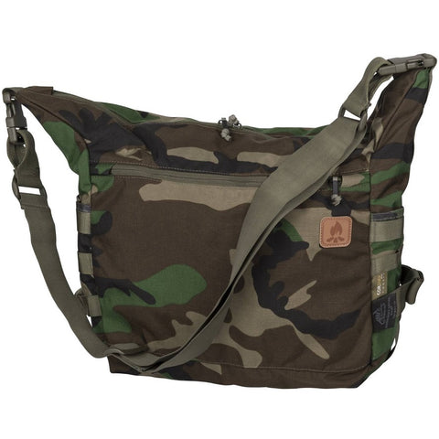 HELIKON-TEX BUSHCRAFT SATCHEL BAG - 17L (US WOODLAND)
