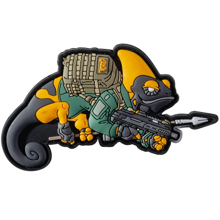 HELIKON-TEX CHAMELEON PATROL LINE EXCLUSIVE PATCH - YELLOW / GREEN