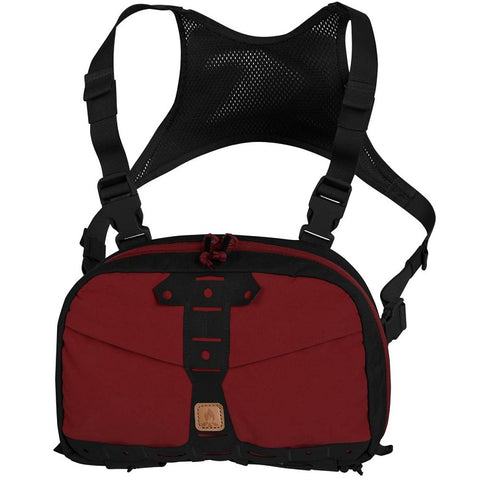 HELIKON-TEX CHEST PACK NUMBAT - CRIMSON SKY / BLACK