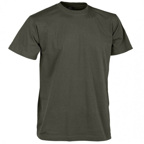 HELIKON-TEX COTTON T-SHIRT - TAIGA GREEN