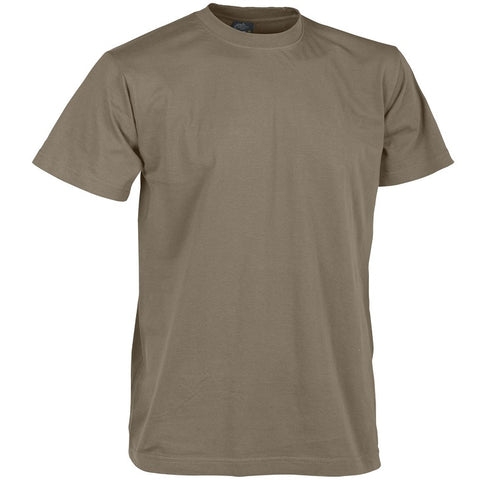 HELIKON-TEX COTTON T-SHIRT - U.S. BROWN